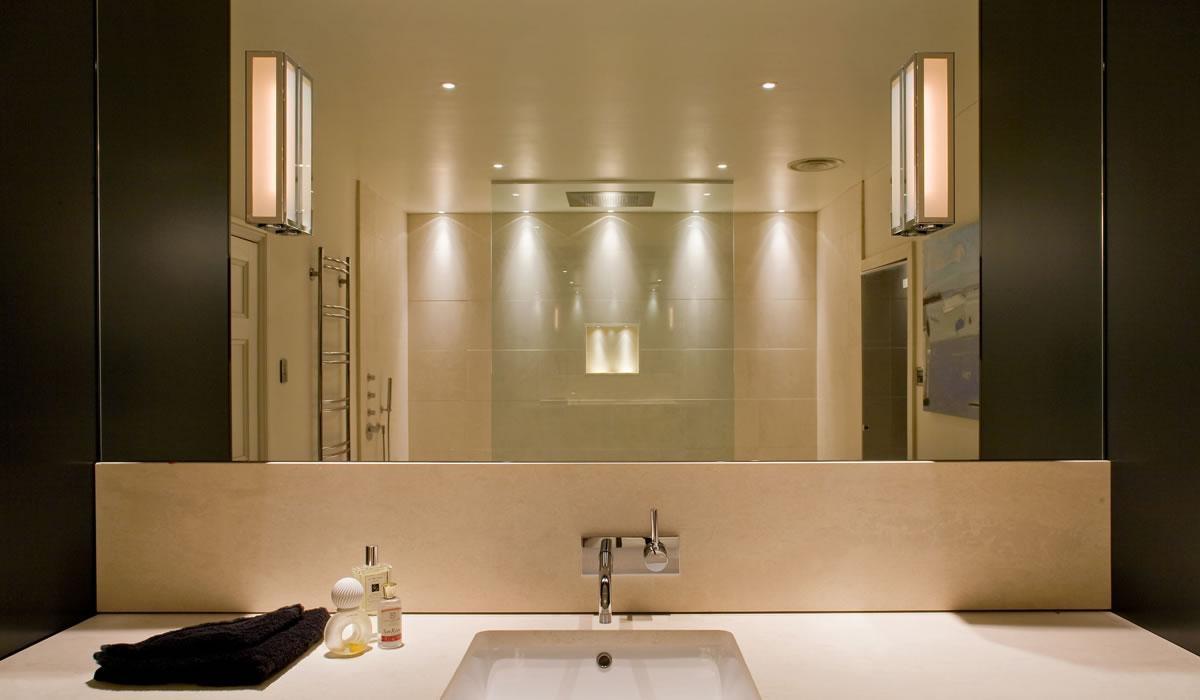 Lighting: Large Bathroom Mirror With Bathroom Lights And With Lights For Bathroom Mirrors (Image 15 of 20)
