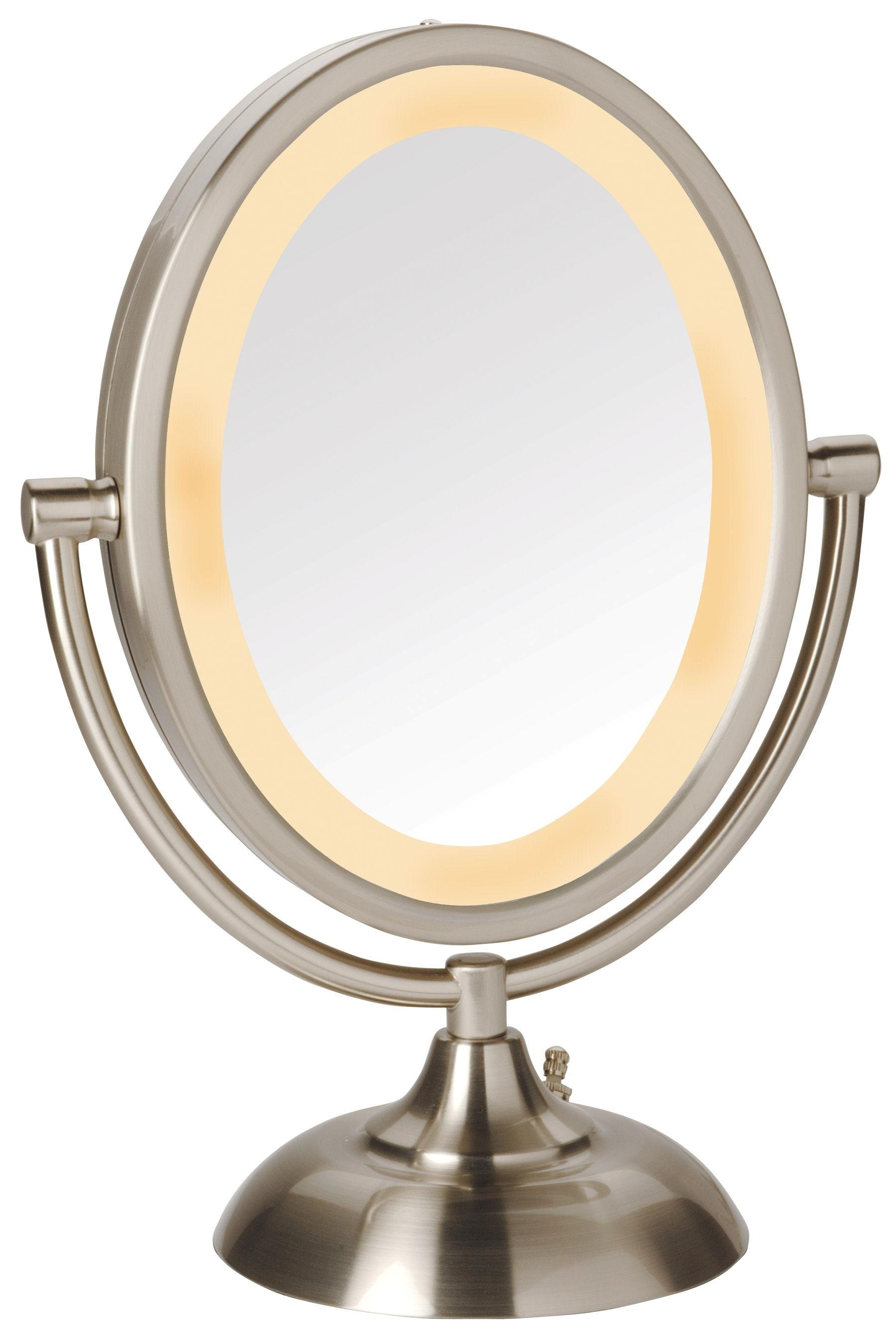 Lights For Makeup Mirror Lighted | Home Lighting Ideass31 49 Regarding Lit Makeup Mirrors (Image 18 of 20)