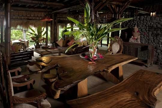 Lila Bamboo Villa, Ubud, Bali Villa Within 2018 Balinese Dining Tables (Image 15 of 20)