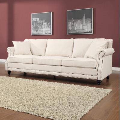 Lisa Loves John: The Low Down On The White Sofa In Pier One Carmen Sofas (View 3 of 20)