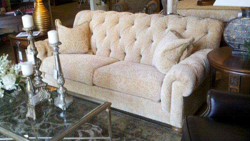 Living Beautifully: Trip To Ethan Allen To Look At Sofas. In Chadwick Sofas (Photo 1 of 20)