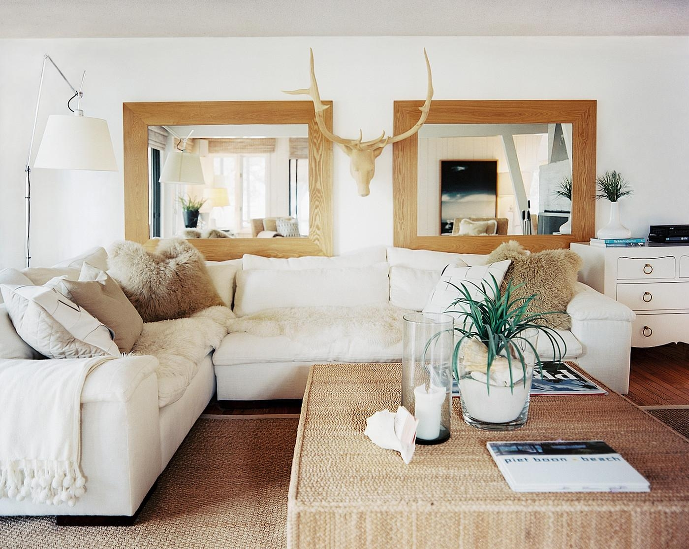 20 Inspirations Modern Living Room Mirrors | Mirror Ideas