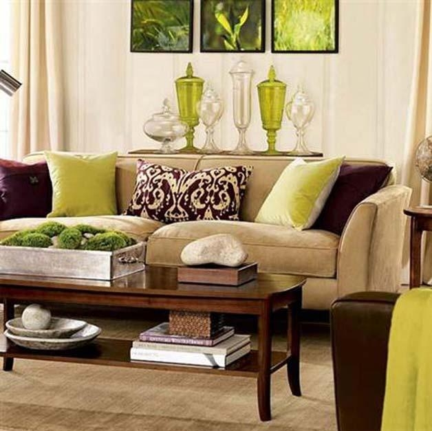 Living Room Ideas Brown Couches | Centerfieldbar Regarding Brown Sofas Decorating (Image 16 of 20)