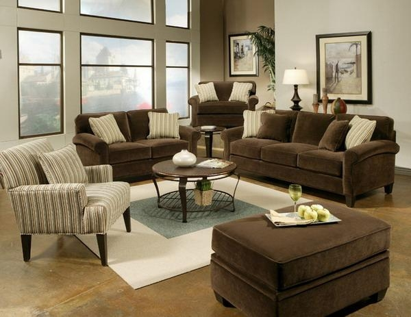Living Room Ideas On Pinterest Brown Sofas Brown Couch And Living Inside Living Room With Brown Sofas (Image 19 of 20)