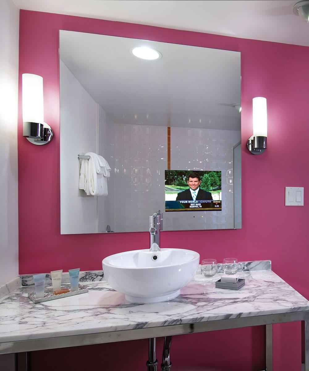 Loft Bathroom Mirror Tv – Electric Mirror Within Las Vegas Mirrors (Image 18 of 20)