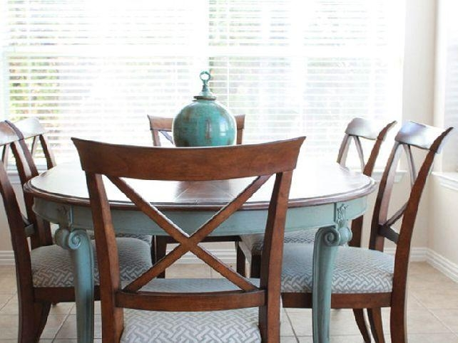 Lofty Inspiration Painted Dining Table | All Dining Room Throughout 2018 Painted Dining Tables (View 18 of 20)