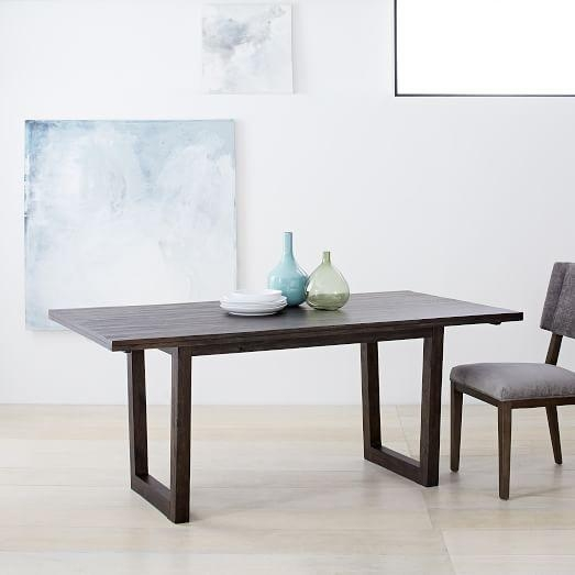 Logan Industrial Dining Table | West Elm Inside 2017 Logan Dining Tables (Image 15 of 20)