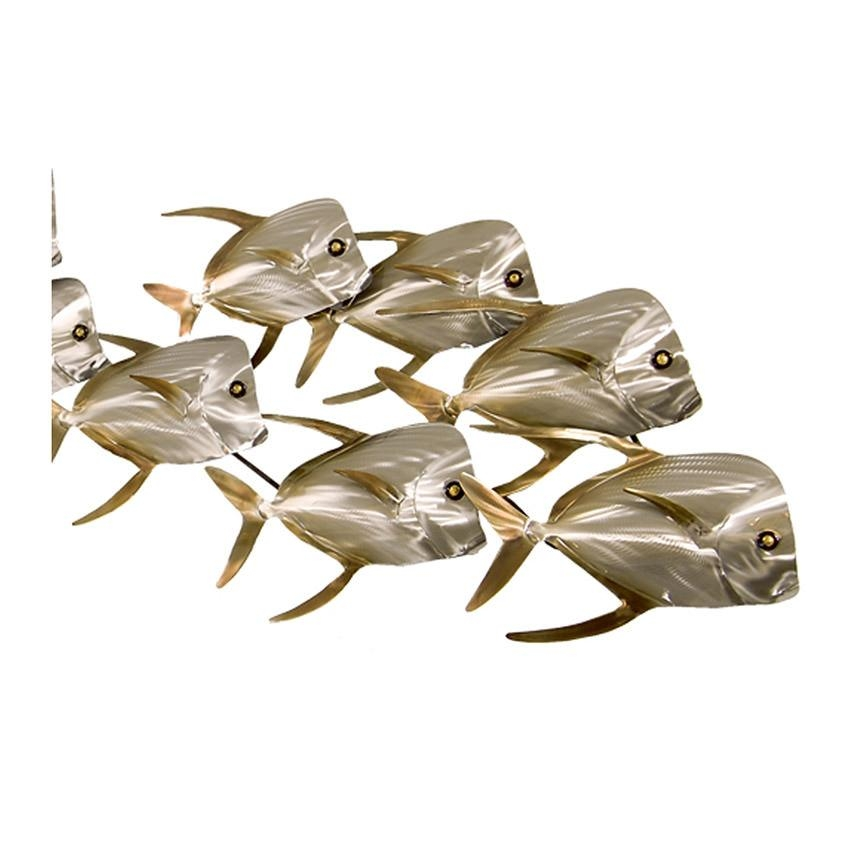 Lookdown Fish School Wall Decor | El Dorado Furniture For Metal School Of Fish Wall Art (Image 7 of 20)