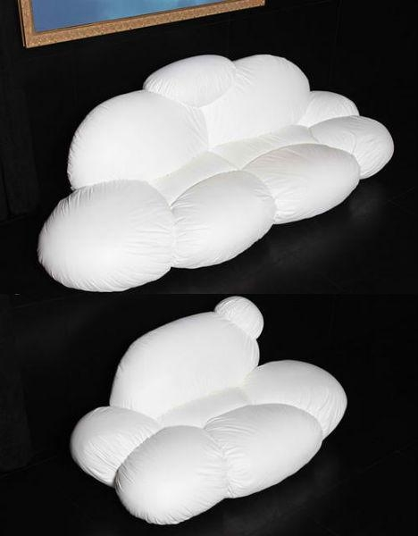 Lounge On A Cloud In Your Living Room With The Cirrus Sofa Pertaining To Floating Cloud Couches (View 10 of 20)