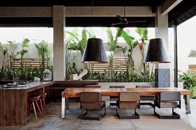 Luxurious Architectural Interiors And Outdoor Living Spaces In For Most Up To Date Balinese Dining Tables (Image 16 of 20)
