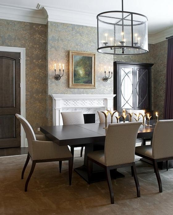 Luxury Dark Wood Dining Room Table 88 On Home Decor Ideas With Pertaining To 2018 Dark Dining Room Tables (View 7 of 20)