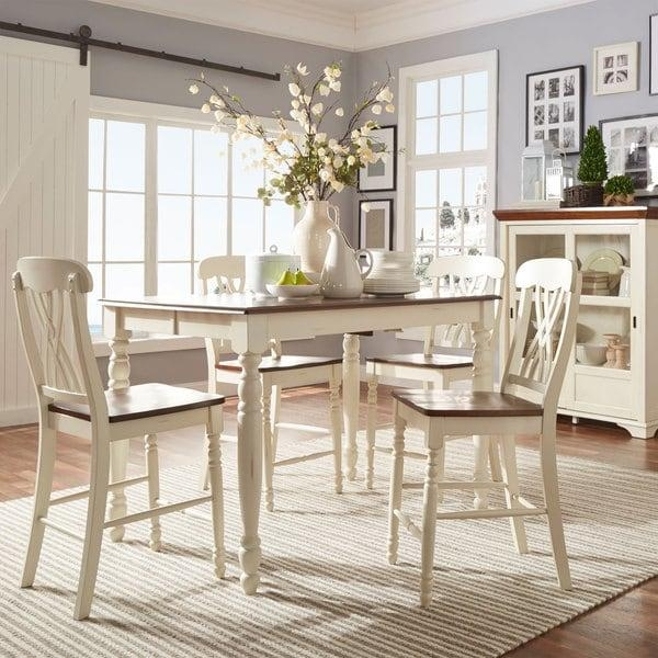 Mackenzie Counter Height Extending Dining Setinspire Q Classic Regarding Newest Extending Dining Sets (Image 16 of 20)