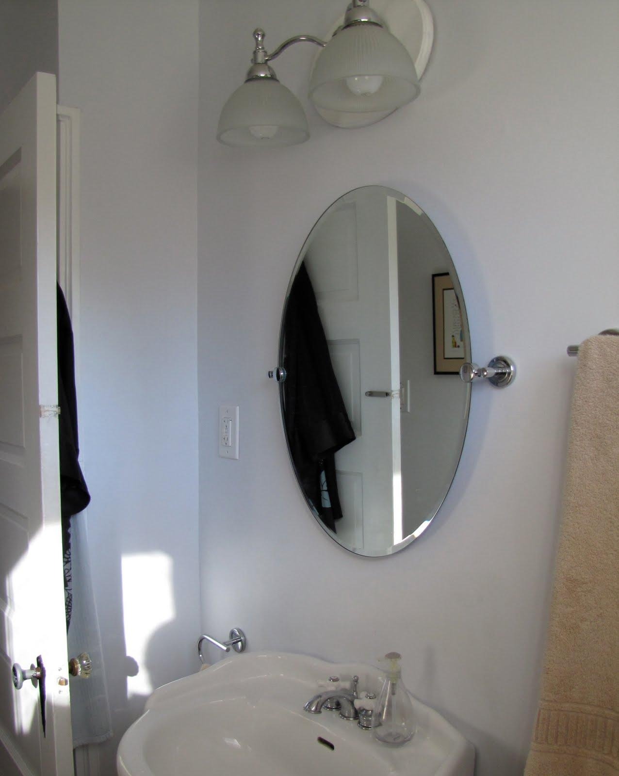 Mad For Mid Century: Our Mid Century Modern Bathroom Mirror For Modern Bath Mirrors (Image 16 of 20)