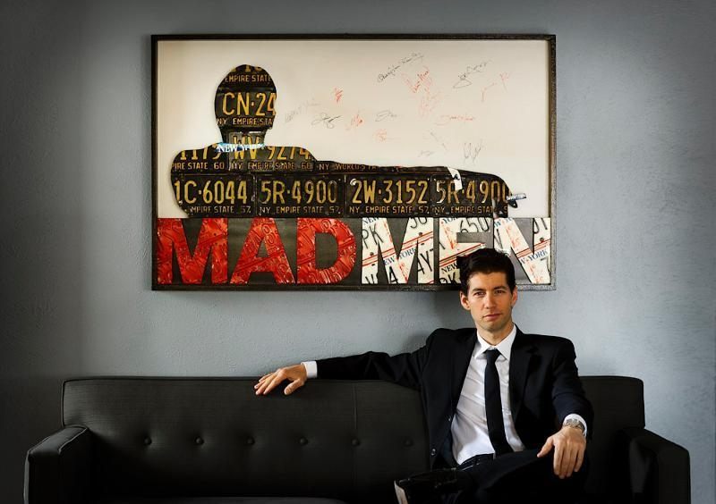 Mad Men Art Auction To Benefit Trips For Kids – Mtbr With Regard To Mad Men Wall Art (Image 8 of 20)