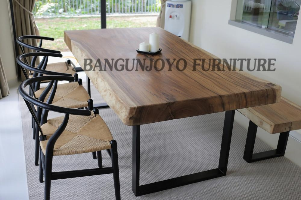 Malaysian Wood Dining Table Set/bali Dining Room Table – Buy Pertaining To Most Recent Bali Dining Sets (Image 17 of 20)