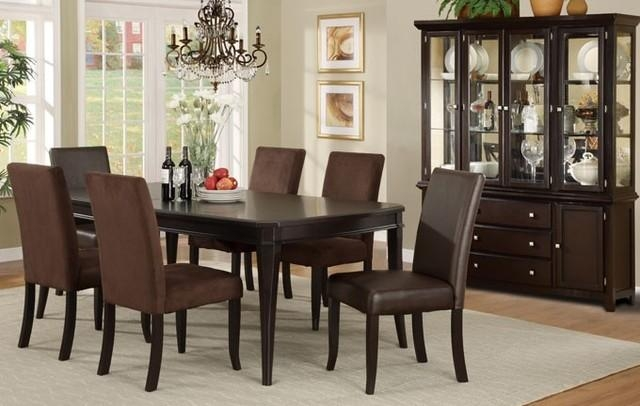 Marvellous Design Dark Wood Dining Room Set | All Dining Room Inside Most Up To Date Dark Wood Dining Tables And Chairs (View 12 of 20)
