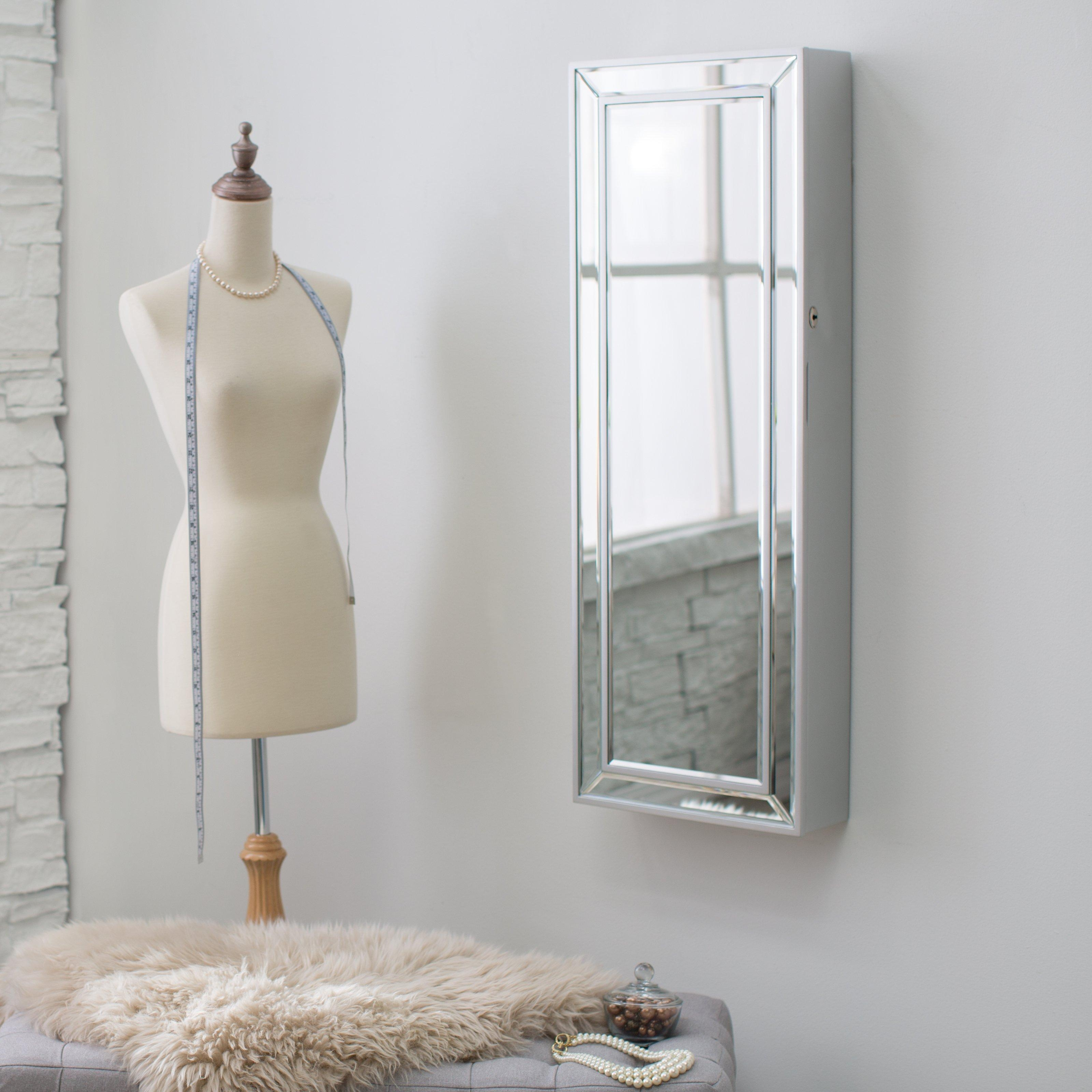 Marvelous Decoration Wall Mounted Full Length Mirror Fashionable Within Wall Mounted Mirrors For Bedroom (Photo 14 of 20)