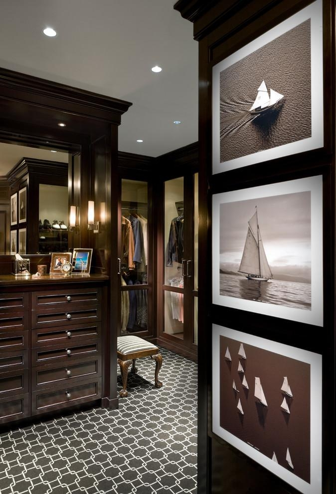 Masculine Wall Art Closet Traditional With Black And White Regarding Masculine Wall Art (Image 9 of 20)