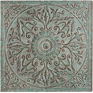 Medallion Metal Wall Art Intended For Metal Medallion Wall Art (Image 12 of 20)
