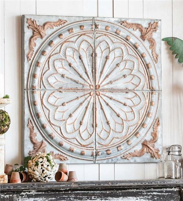 Medallion Wall Art | Roselawnlutheran Within Metal Medallion Wall Art (View 7 of 20)