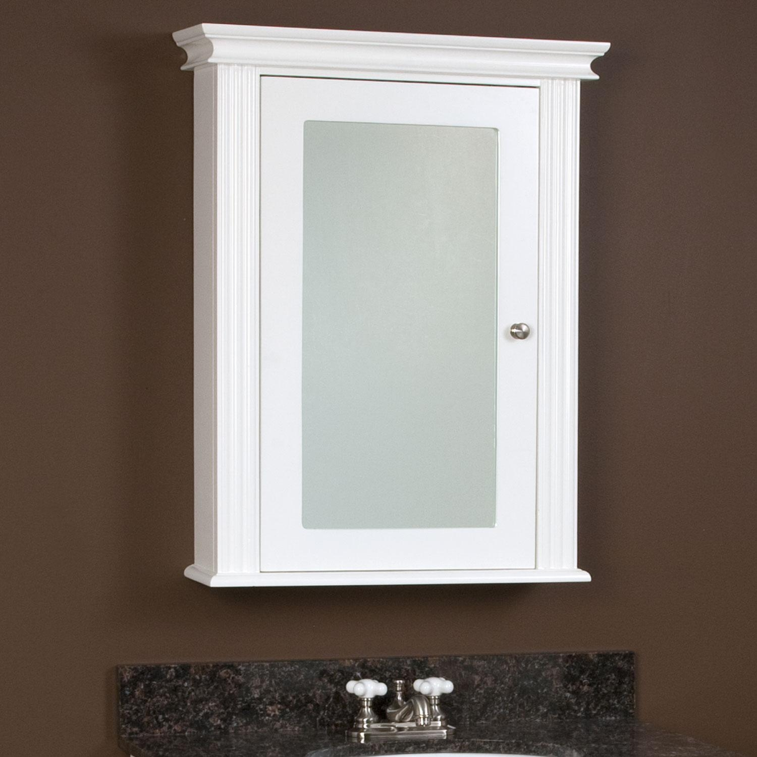 Medicine Cabinet For Interior Furniture : Home Design In Bathroom Medicine Cabinets With Mirrors (Image 12 of 20)