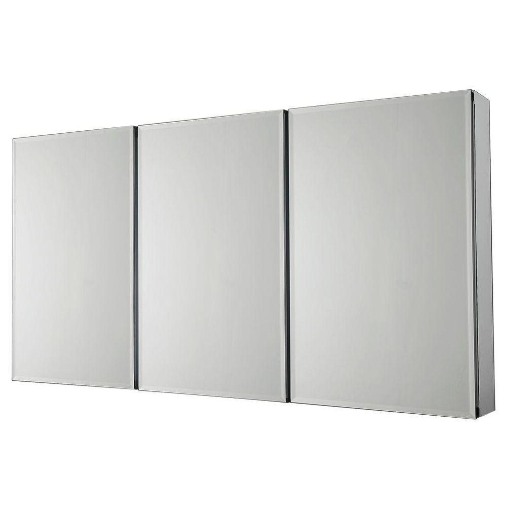 Medicine Cabinets – Bathroom Cabinets & Storage – The Home Depot In Bathroom Medicine Cabinets With Mirrors (Image 14 of 20)