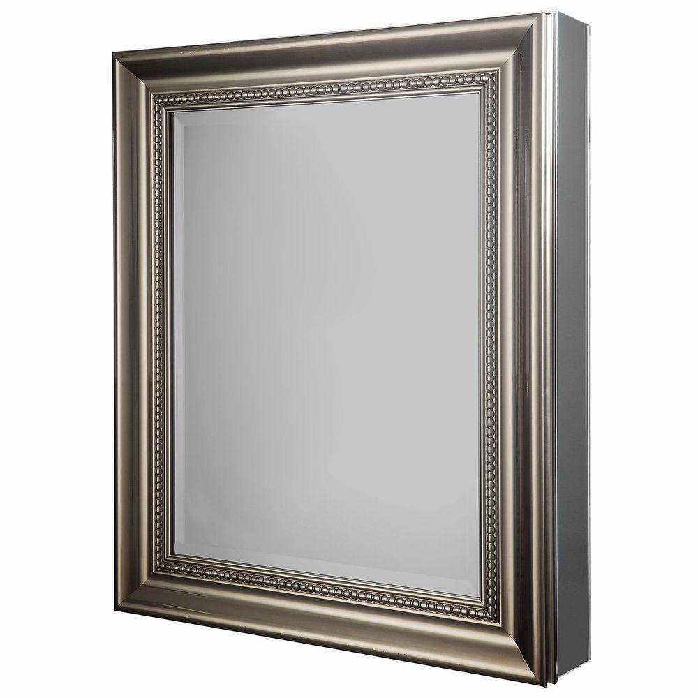 Medicine Cabinets – Bathroom Cabinets & Storage – The Home Depot Inside Bathroom Medicine Cabinets With Mirrors (Image 15 of 20)