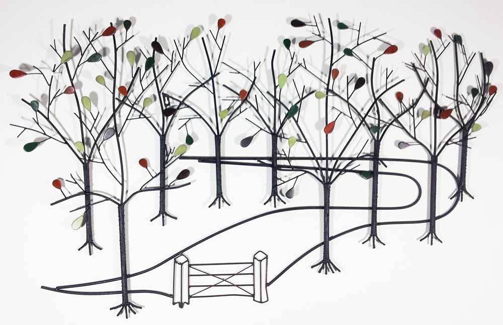 Metal Garden Wall Art – Gardening Ideas In Outside Metal Wall Art (View 13 of 20)