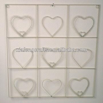 Metal Heart Shape Wall Art Decor Used Home Decoration | Global Sources For Heart Shaped Metal Wall Art (Image 11 of 20)