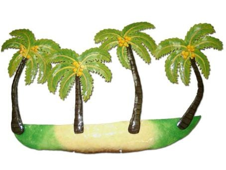Metal Palm Trees Wall Art Only $ (View 11 of 20)