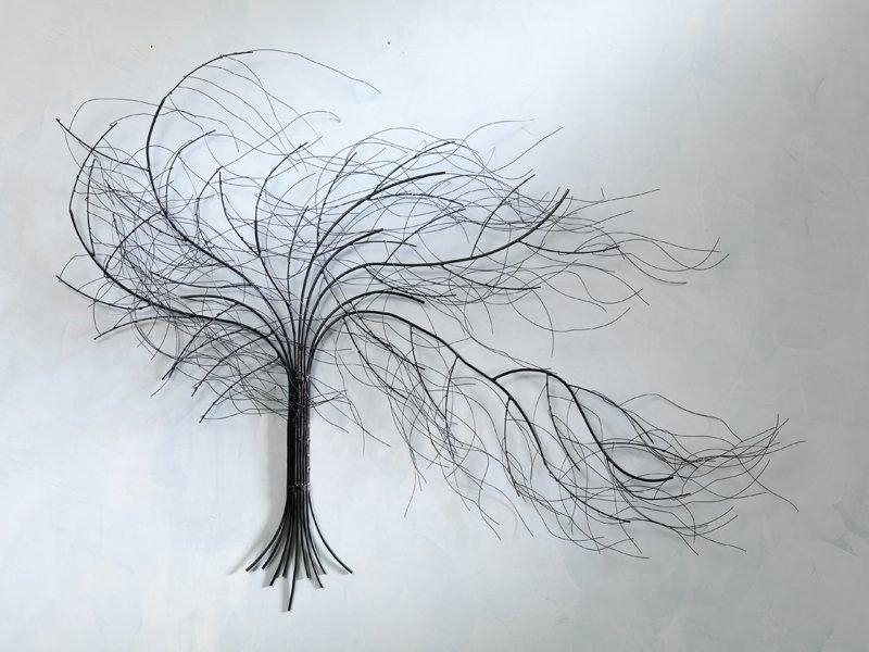 Metal Tree Wall Art Gallery | For Windy Oak Tree Metal Wall Art (Image 10 of 20)