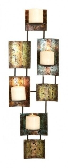 Metal Wall Art Candle Holder – Foter Inside Metal Wall Art With Candles (View 8 of 20)