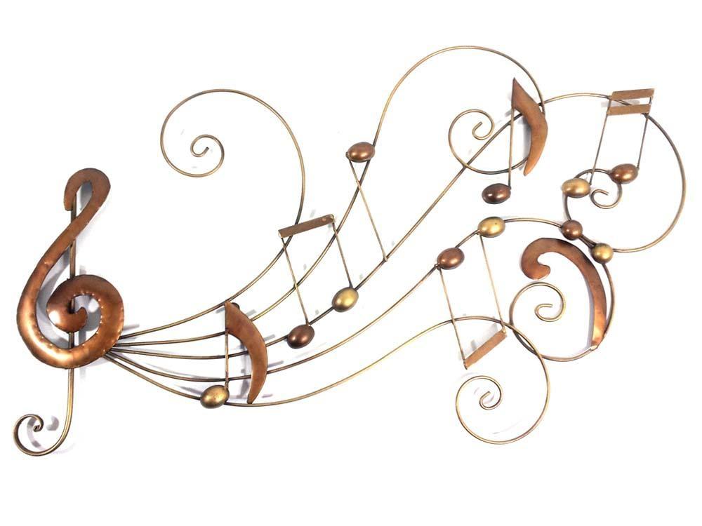 Metal Wall Art – Music Scroll Swirl Within Swirl Metal Wall Art (Image 10 of 20)