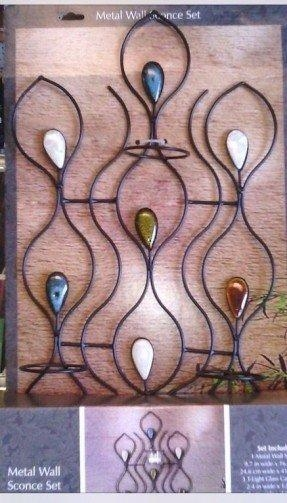 Metal Wall Art With Candles – Foter Intended For Metal Wall Art With Candles (View 11 of 20)