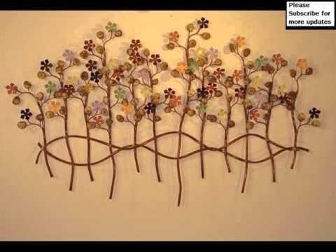 Metal Wall Decor Outdoor | Metal Art – Youtube Regarding Decorative Outdoor Metal Wall Art (Image 15 of 20)