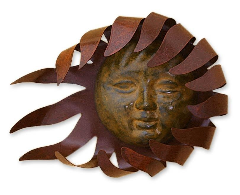 Mexican Sun And Moon Wall Art At Novica In Sun And Moon Metal Wall Art (Image 11 of 20)