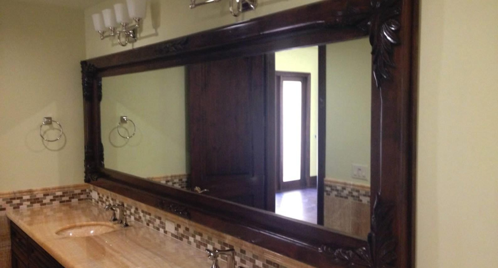 Mirror : Beech Wood Framed Mirrors Dreadful Beach Wood Framed Throughout Beech Wood Framed Mirrors (Image 11 of 20)