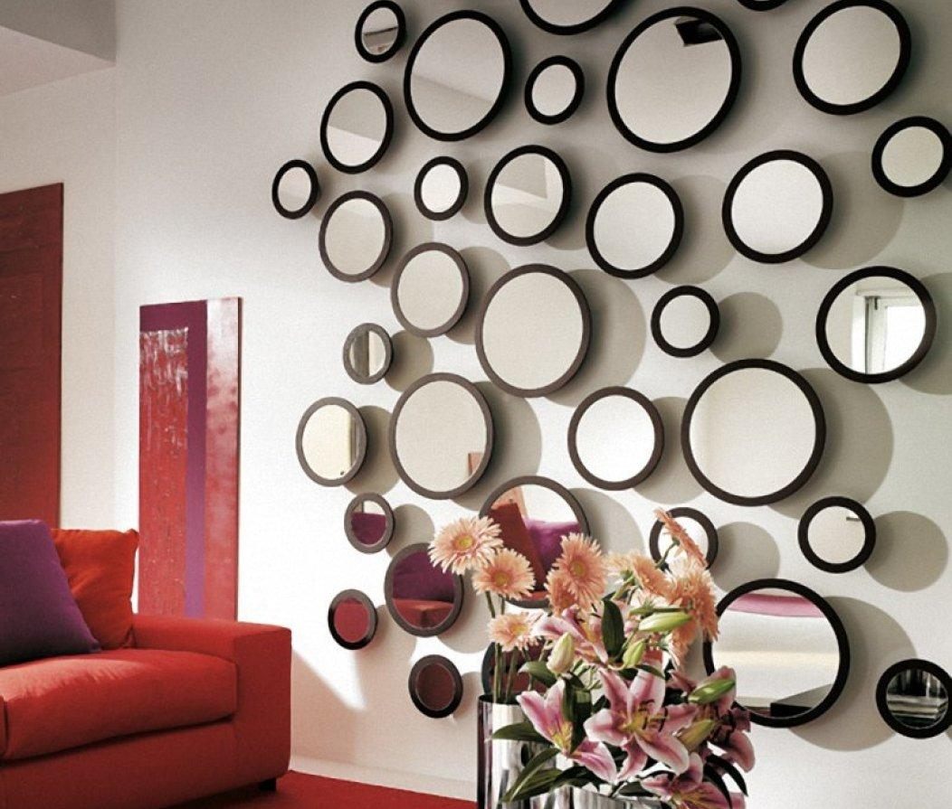 Mirror : Contemporary Wall Mirrors Wall Shelves With Regard To In Cheap Contemporary Mirrors (Image 5 of 20)