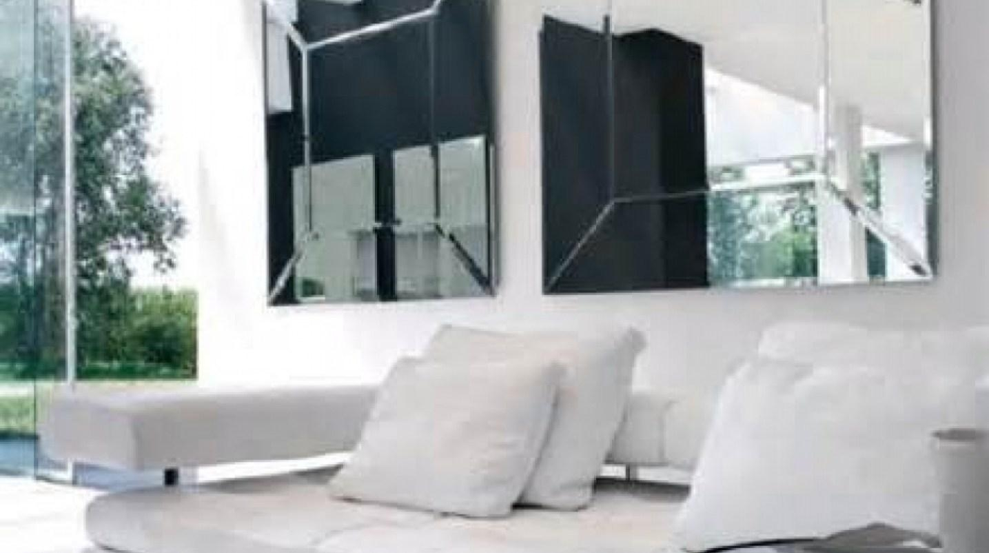 Mirror : Contemporary Wall Mirrors Wall Shelves With Regard To Within Cheap Contemporary Mirrors (Image 13 of 20)
