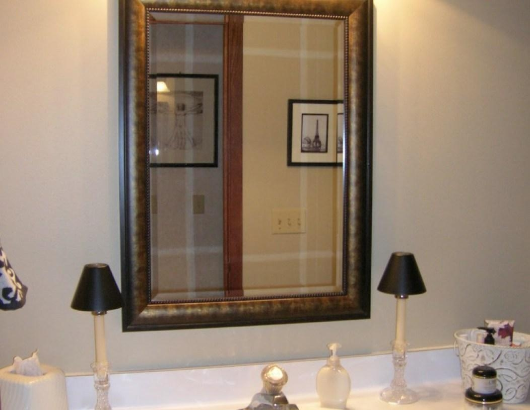 Mirror : Custom Size Framed Mirrors Laudable Custom Size Framed Inside Custom Sized Mirrors (Image 13 of 20)