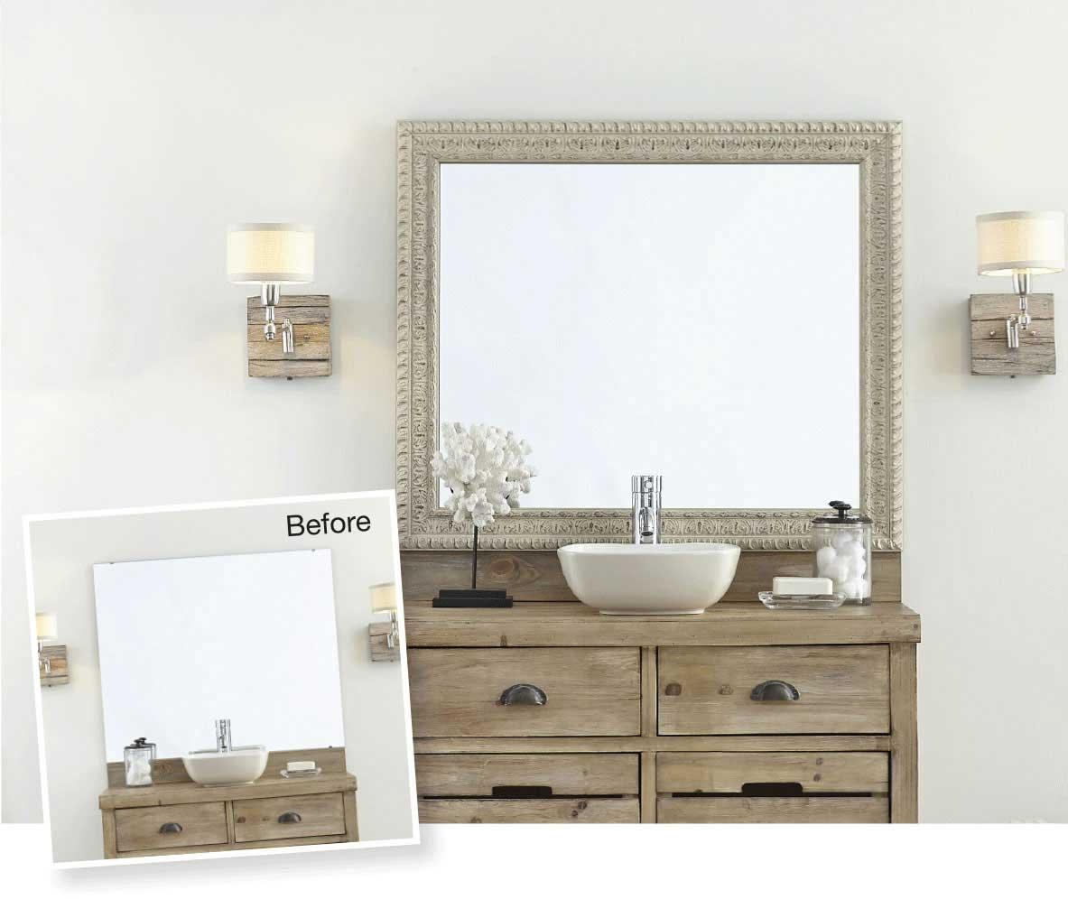 Mirror Frames For Mirrors | Mirrormate Frames Pertaining To Orlando Custom Mirrors (Image 18 of 20)