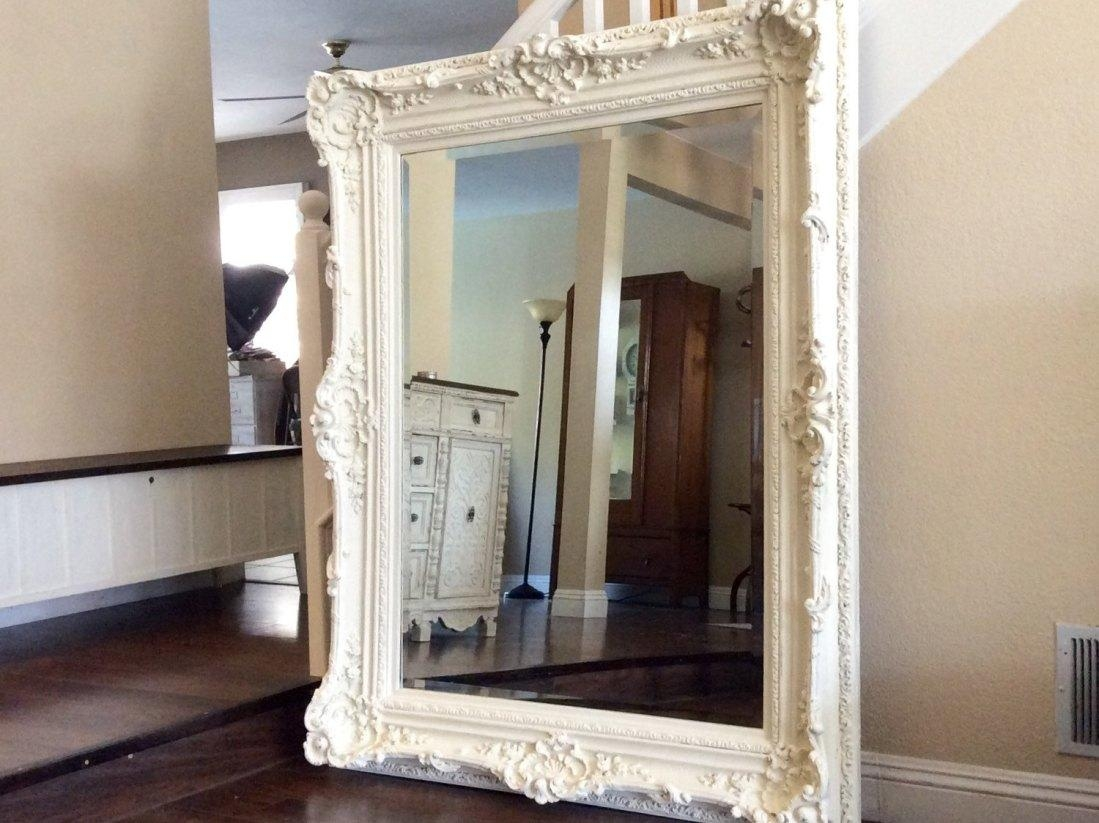Mirror : Large Black Wall Mirror 89 Awesome Exterior With Large Intended For Black Wall Mirrors For Sale (Image 8 of 20)