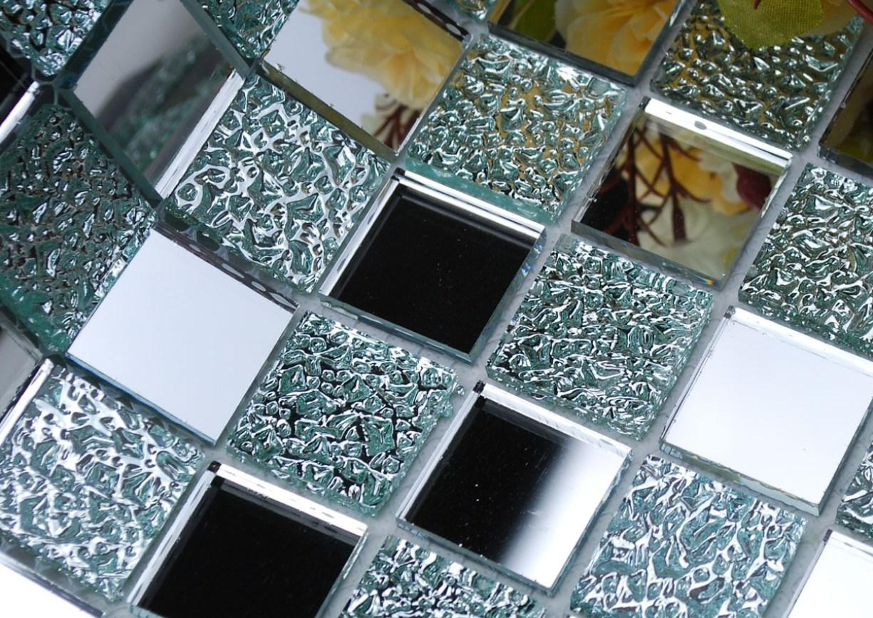 Mirror : Mirror Wall Art Amazing Large Mosaic Mirrors Champagne With Regard To Damask Mirrors (View 19 of 20)
