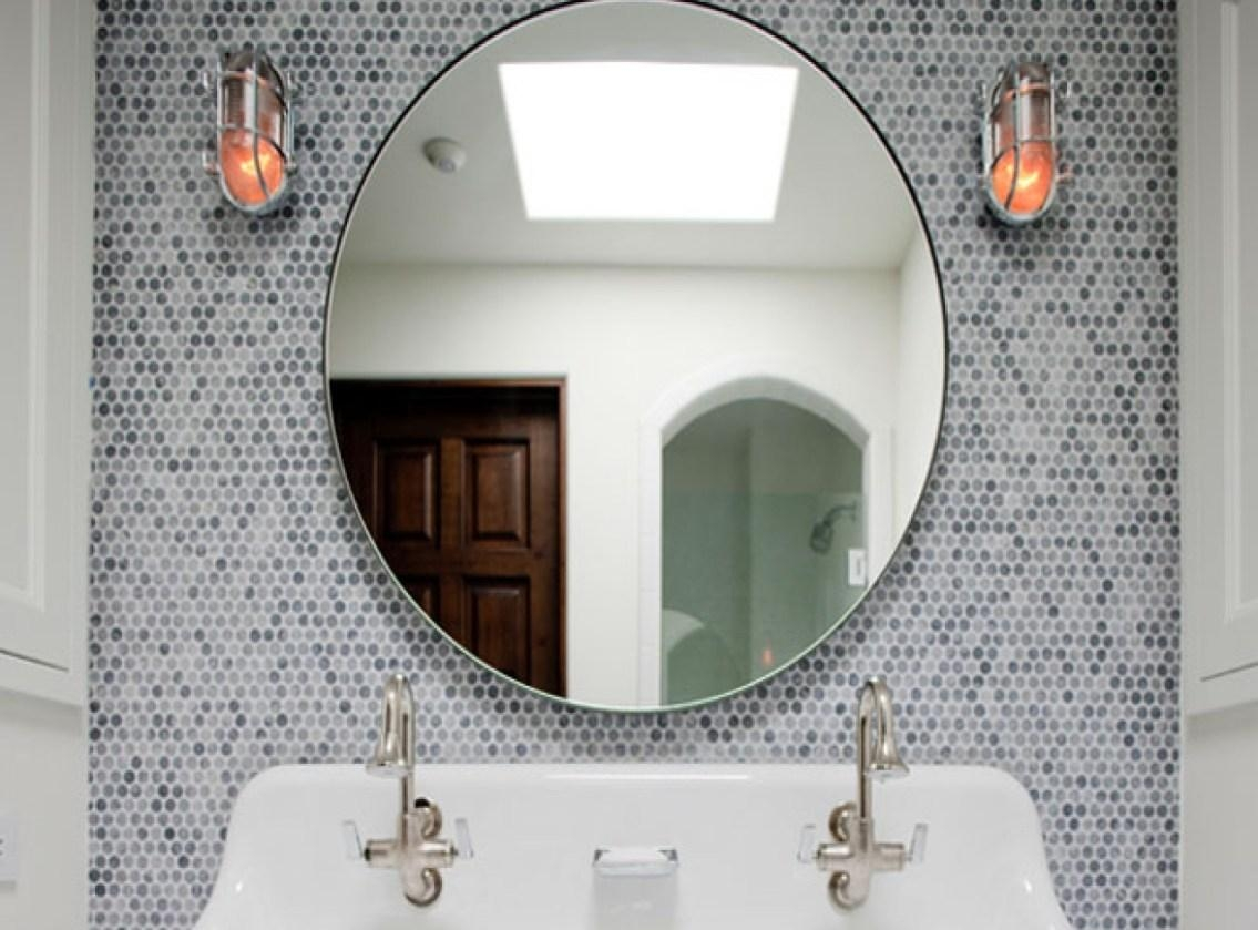 Mirror : Mirror Wall Art Amazing Round Mosaic Mirrors Champagne Intended For Damask Mirrors (View 5 of 20)