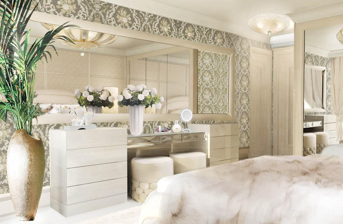 Mirror : Mirror Wall Art Amazing Round Mosaic Mirrors Champagne Throughout Damask Mirrors (View 16 of 20)