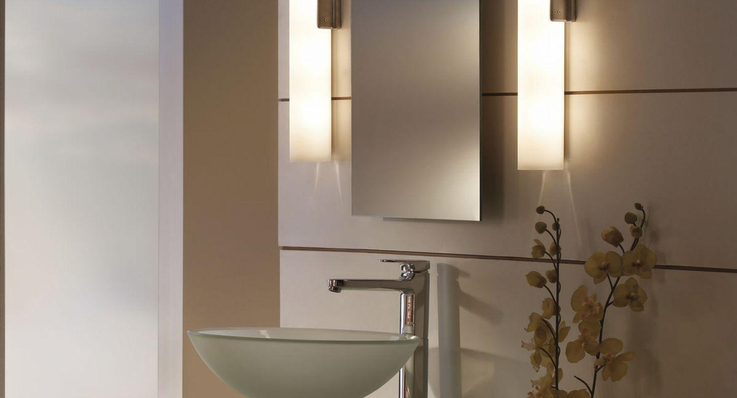 Mirror : Pleasing Above Mirror Wall Light Satiating Wall Mirror For Bathroom Wall Mirrors With Lights (Image 15 of 20)