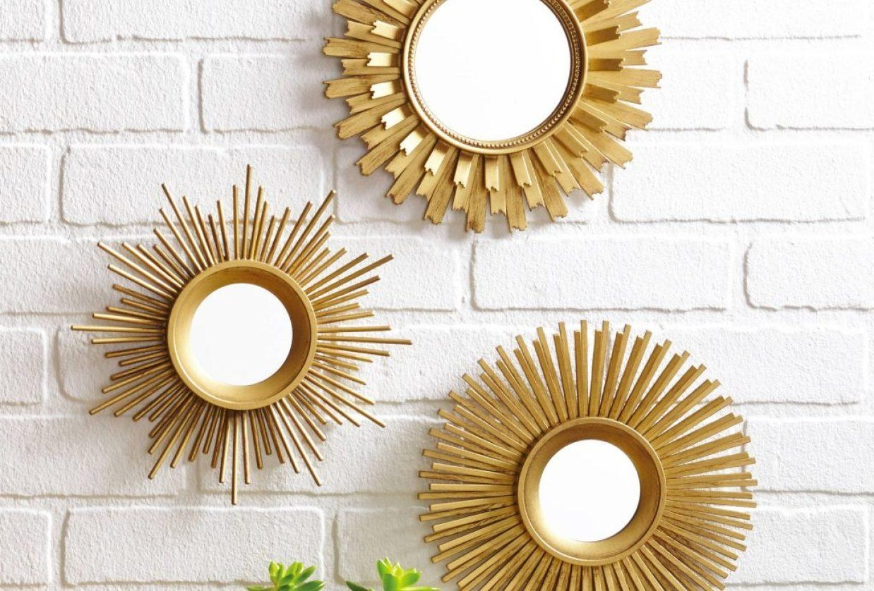 Mirror : Round Wall Mirror Sets Stunning Porthole Wall Mirror Within Small Diamond Shaped Mirrors (Image 10 of 20)
