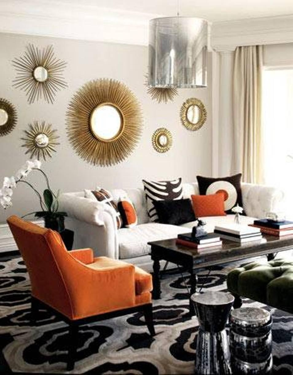 Mirror Wall Decoration Ideas Living Room Alluring Decor For Decorative Living Room Wall Mirrors (Image 15 of 20)