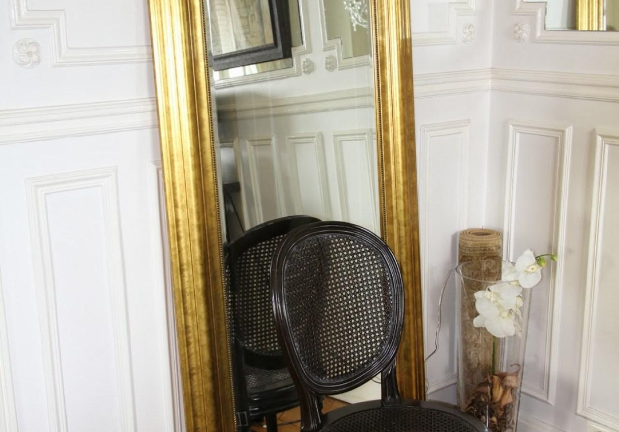 Mirror : White Standing Mirror Cool White Floor Standing Bedroom Inside Free Standing Bedroom Mirrors (Image 14 of 20)