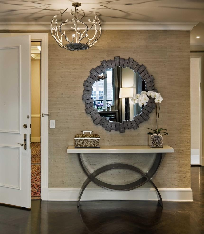 Mirrors: Amazing Accent Mirrors Entryway Decorating Mirrors Ideas Pertaining To Mirrors For Entry Hall (View 20 of 21)